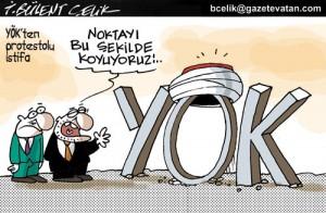Yeni Yök ve Bülent Serim istifası