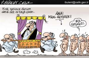 Kral Çıplak!