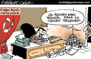 Erdoğan'dan Baykal'a mektup