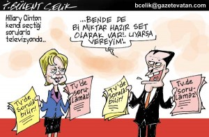Hilary Clinton Türk Televizyonlarında