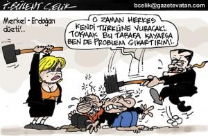 Merkel – Erdoğan çatışması