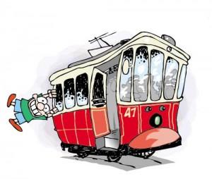 Tramvaya Asılmak Yasaktır