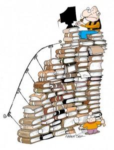 Kitap eki için karikatür/desen
