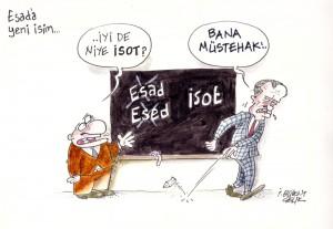 Esad'a yeni isim..