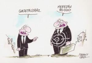 Gazeteciler Hedef