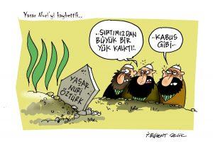 Yaşar Nuri Öztürk'ü uğurladık..