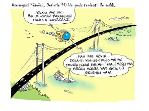 Osmangazi Köprüsü Açıldı..