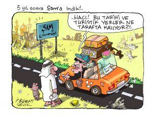 Gördünüz mü arabın Şam'ını!
