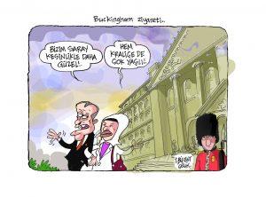 Buckingham ziyareti..